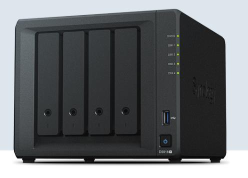 ¥群晖NAS DS918+ 数据备份存储服务器 山东代理