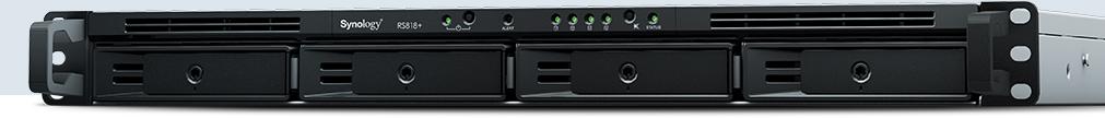 ¥群晖NAS RS819 4盘位机架数据备份存储服务器