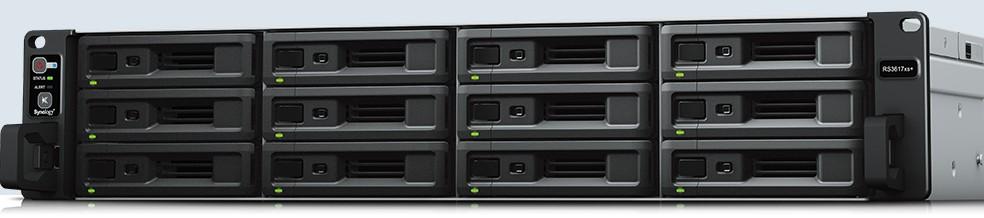 ¥群晖NAS存储服务器RS2418+ 企业机架12盘位私有云