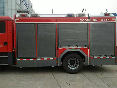 消防車后備梯,消防車卷簾門,特種車簾子門