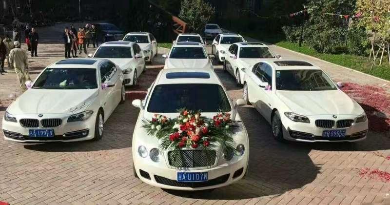 婚礼租车哪里有|专业婚礼租车服务找长春诚意租车