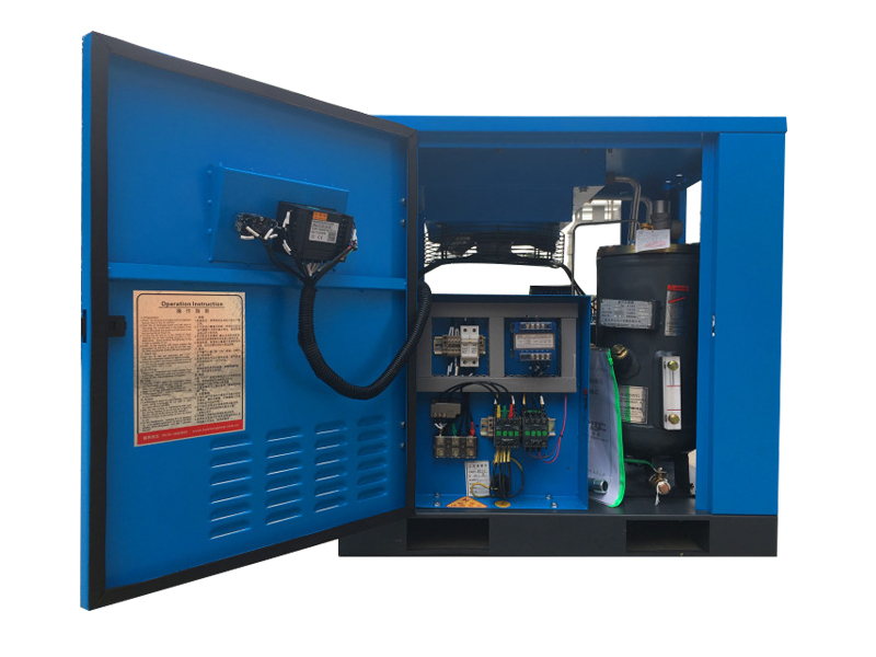 变频空压机-静音空压机-双极压缩空压机-国友机电