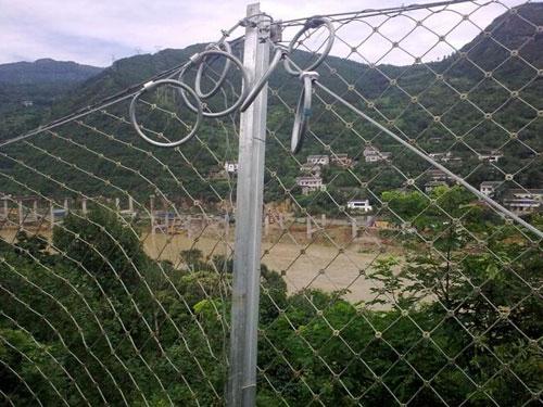 隧道洞口坡面防护被动网_滑坡灾害防护被动网_被动拦石网