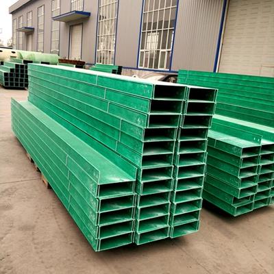 生产优质耐腐蚀电缆线槽-玻璃钢电缆线槽厂家价格河北精创玻璃钢