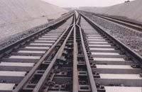 林州市道岔配件總廠  可靠的  重軌道岔