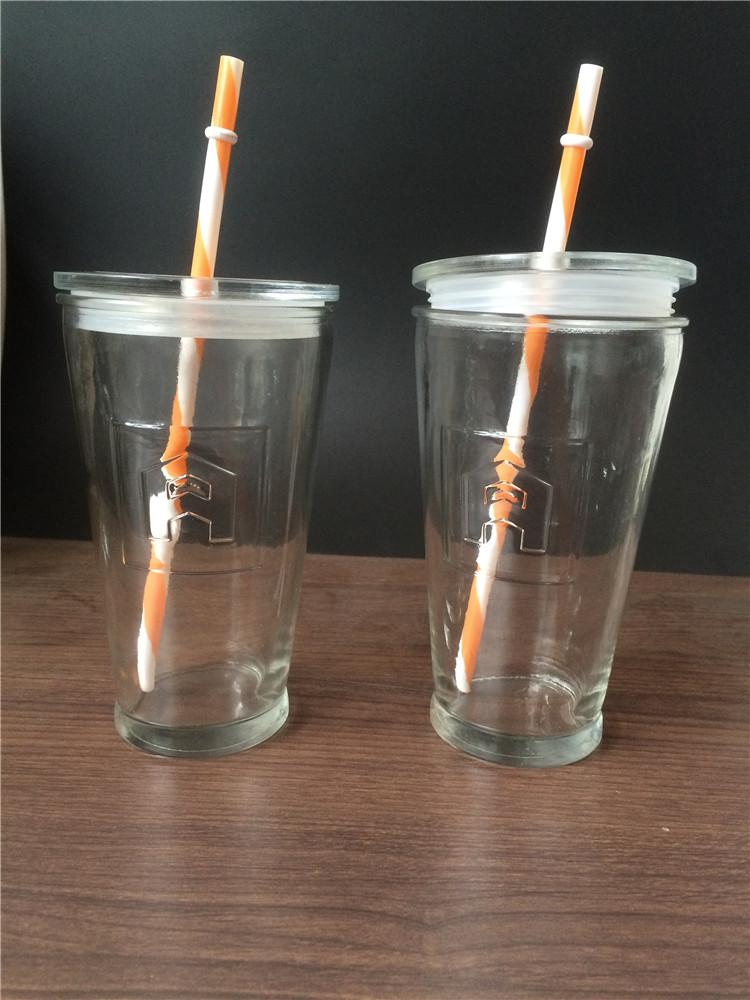 玻璃冷饮杯