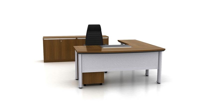 辦公桌廠家-想買高性價行政人員臺就到優一家私裝飾