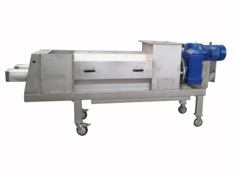 徐州優惠的尾菜處理螺旋壓榨機-質量好的尾菜螺旋壓榨機供應
