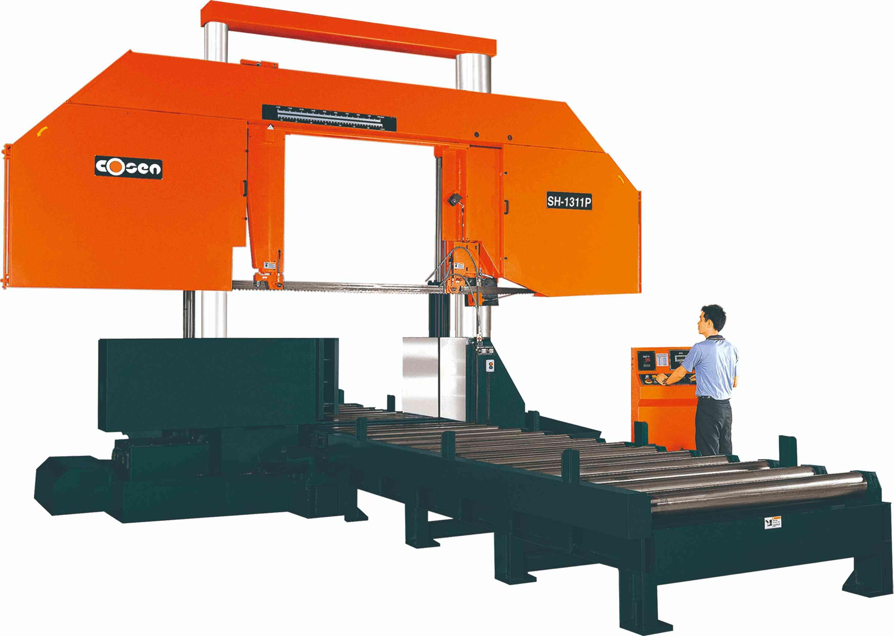 浙江重切削系列大型龍門雙柱帶鋸床|廈門哪里能買到重切削大型龍門雙柱帶鋸床SH-1311P