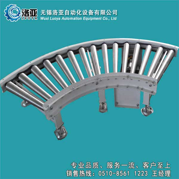 天津链轮弯道滚筒输送机-无锡专业的高品质链轮弯道滚筒输送机输送机推荐