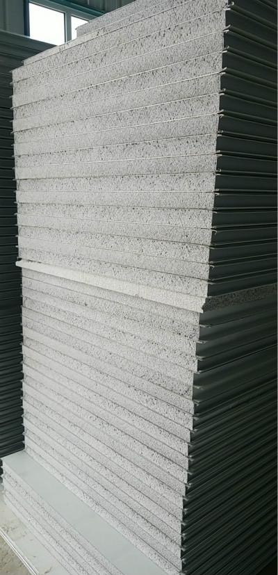 伊犁瓦楞岩棉夹心板定制|炳盛达净化科技有限公司新疆机制板生产厂