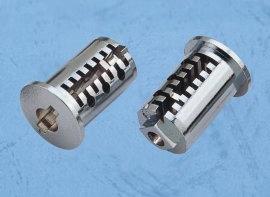 定制内齿曲型锁芯锌铝合金压铸件