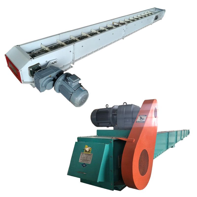 面粉刮板输送机粉状物料埋刮板机链条输送机