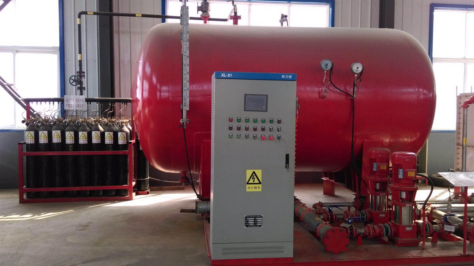 沈阳吉兴机械铸造出售消防气体顶压设备 消防气体顶压设备价格