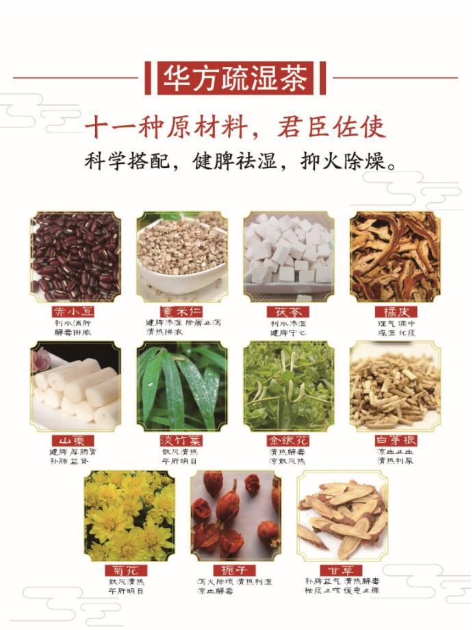 便利的華方疏濕茶_供應知名的祛濕茶