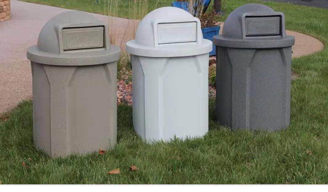 湖北滾塑環保垃圾桶PE環保垃圾桶-想買款式新的PE垃圾桶就到星暉模具