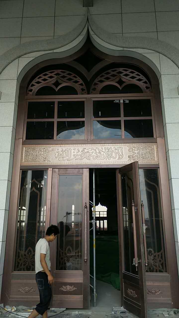 宁夏清真寺铜门-大量出售超值的清真寺铜门