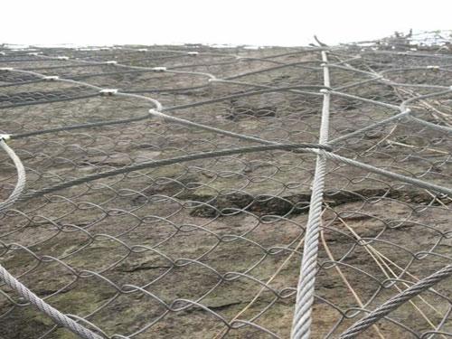 災害邊坡治理防護主動網_國標主動防護網_邊坡山體防護主動網