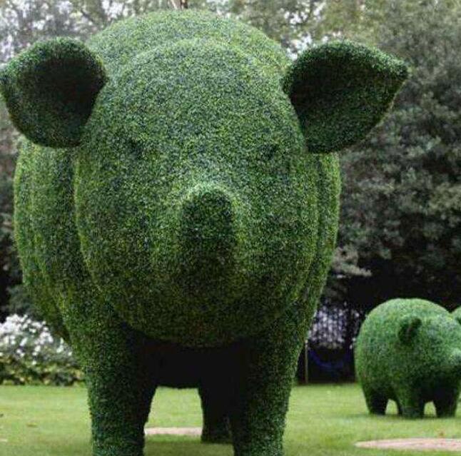 动物绿雕靠谱-动物绿雕找哪家制作的好