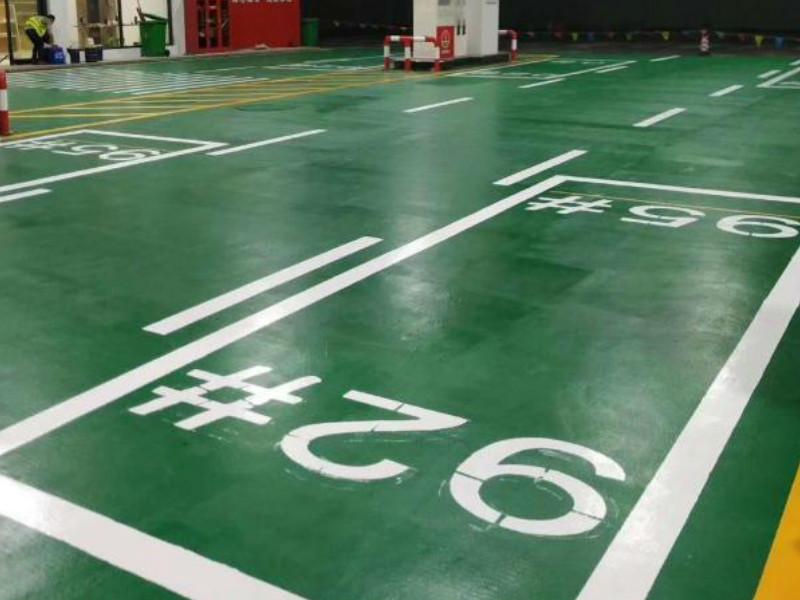 郴州工厂地坪漆施工找安捷交通
