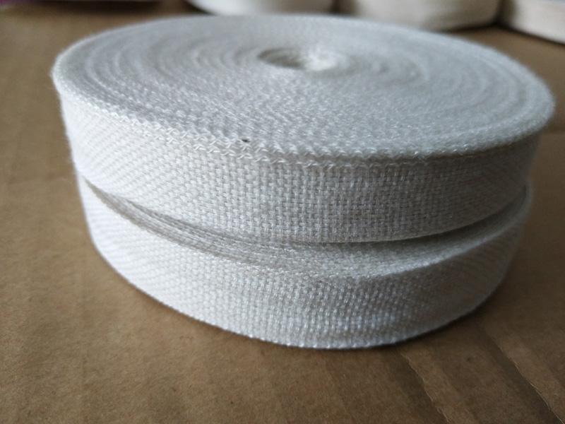 許昌純棉電工白布帶廠家-電工電機綁扎棉布帶價格