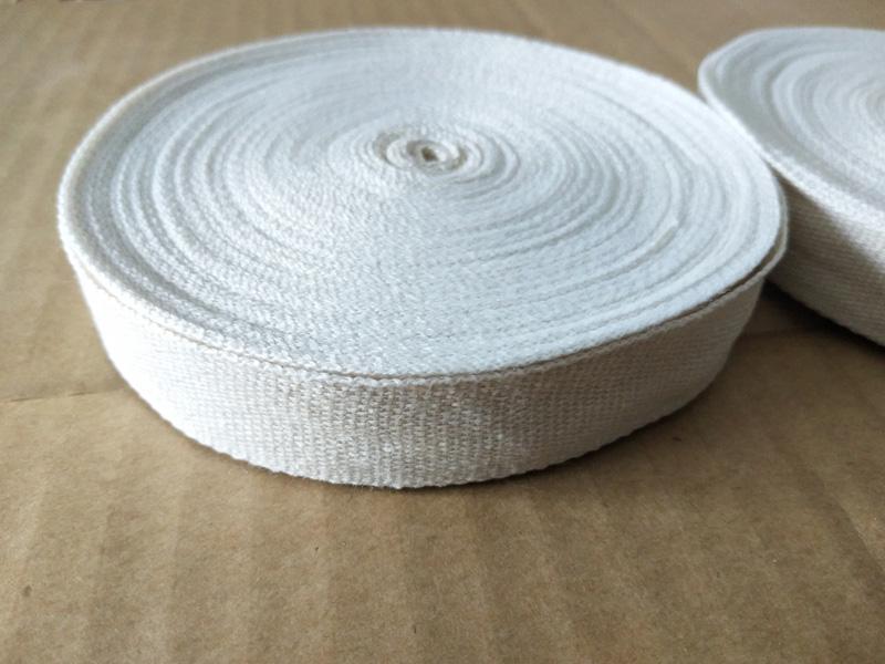 甘肅蘭州電機綁扎純棉白布帶-電機絕緣白紗帶生產廠家