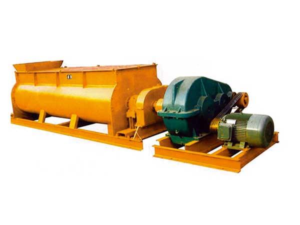 山东双卧轴混凝土搅拌机_博若泽机械连续双卧轴搅拌机供应商