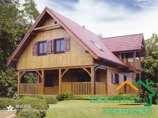 阿勒泰防腐木建造原木房屋-乌鲁木齐高销量的新疆防腐木木屋