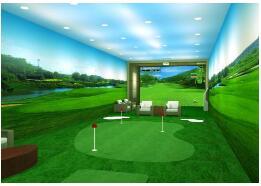 上海熱賣的國內室內高爾夫模擬設施推薦-青少高爾夫模擬器