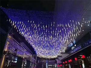 LED流星雨灯厂家,LED流星雨灯圣诞节灯饰,LED节日挂树彩灯价格
