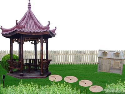 伊犁防腐木凉亭建造-哪里有卖品牌好的新疆防腐木凉亭