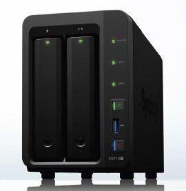 ※群晖NAS DS718+企业存储服务器 数据安全