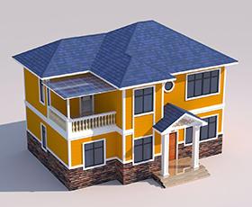双层轻钢别墅造价,广西轻钢别墅专业建造公司