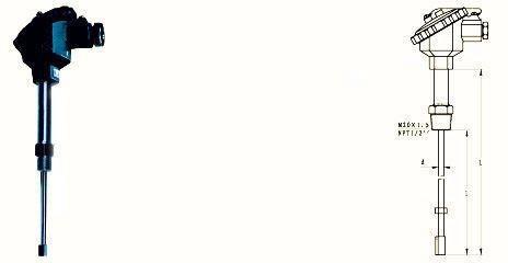 全国超低价供应上仪热电偶|WRNK-231D炉管刀刃热电偶