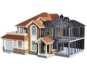 轻钢别墅的样板房,轻钢别墅的功能