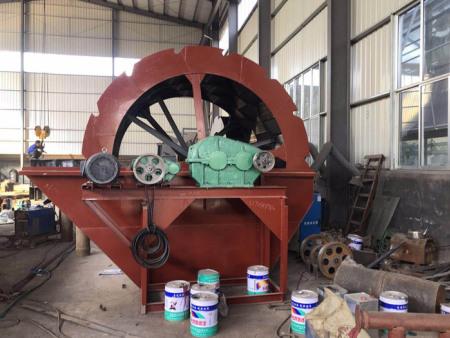 水轮洗沙机供应商 先科机械直销质量硬的水轮洗沙机