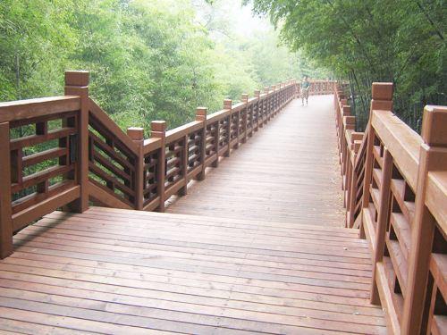 新疆防腐木护栏