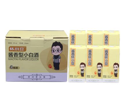 北京酱香酒供货商-供应遵义划算的怀小豆酱香型小白酒