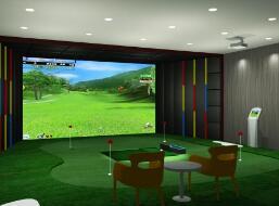 室內模擬高爾夫哪里買-酒店高爾夫