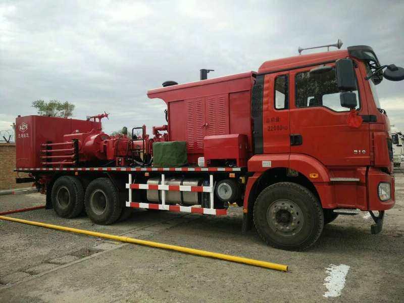 兰州油田洗井车厂家-规模大的甘肃压裂车供应商