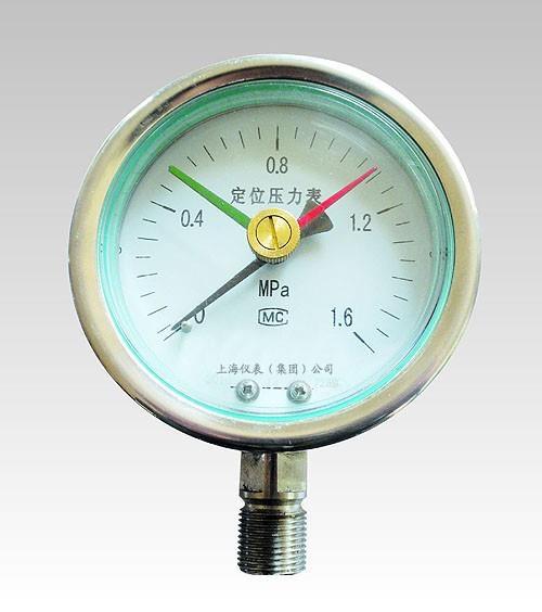 定位型压力表 上海定位型压力表厂家 上仪定位型压力表