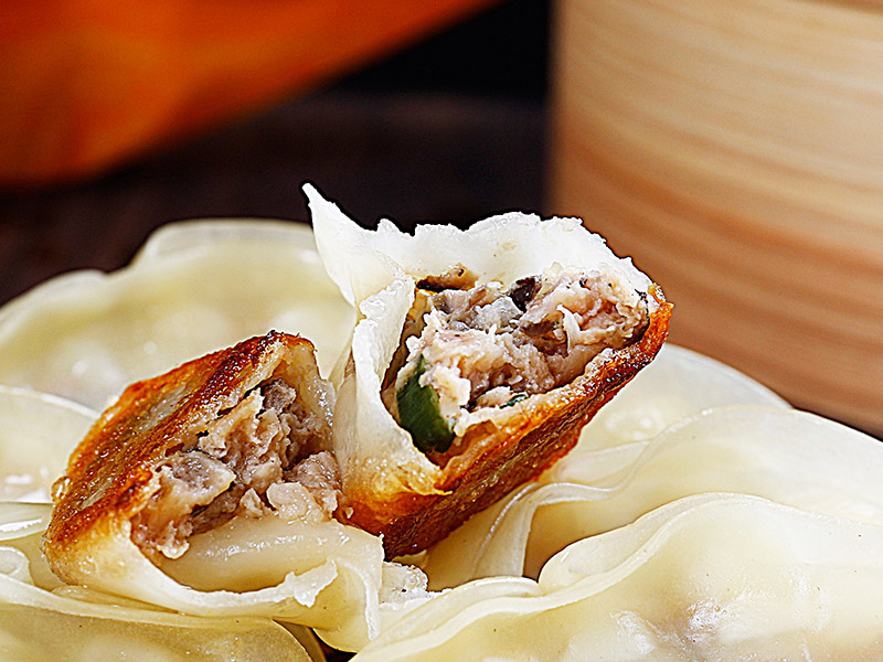 辽宁蒸煎饺-实惠的蒸煎饺,迪雀食品供应
