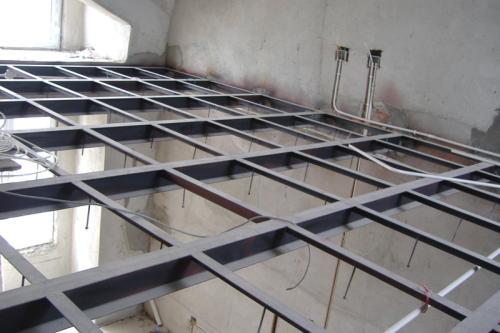 西安室内钢结构夹层-西安室内钢结构夹层厂家
