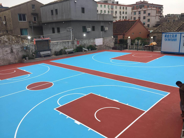 可信赖的弹性丙烯酸球场品牌介绍     硅PU球场地坪