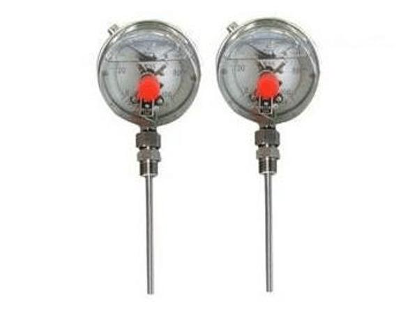 耐震双金属温度计WSSN-411/401天天低价上海仪表供货
