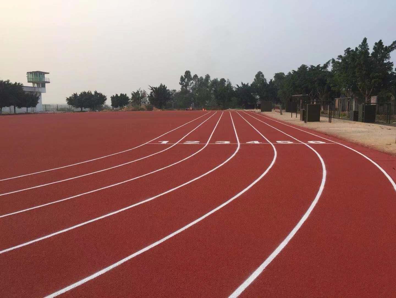 厂家直销的硅PU球场-广东预制型塑胶跑道材料供应厂家