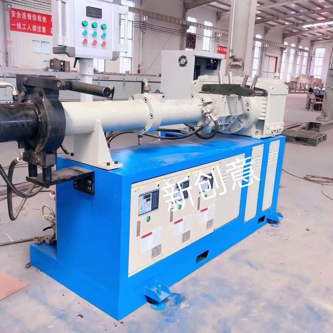 三元乙丙橡胶挤出机,橡胶硫化挤出机,三元乙丙挤出硫化生产线的设备组成