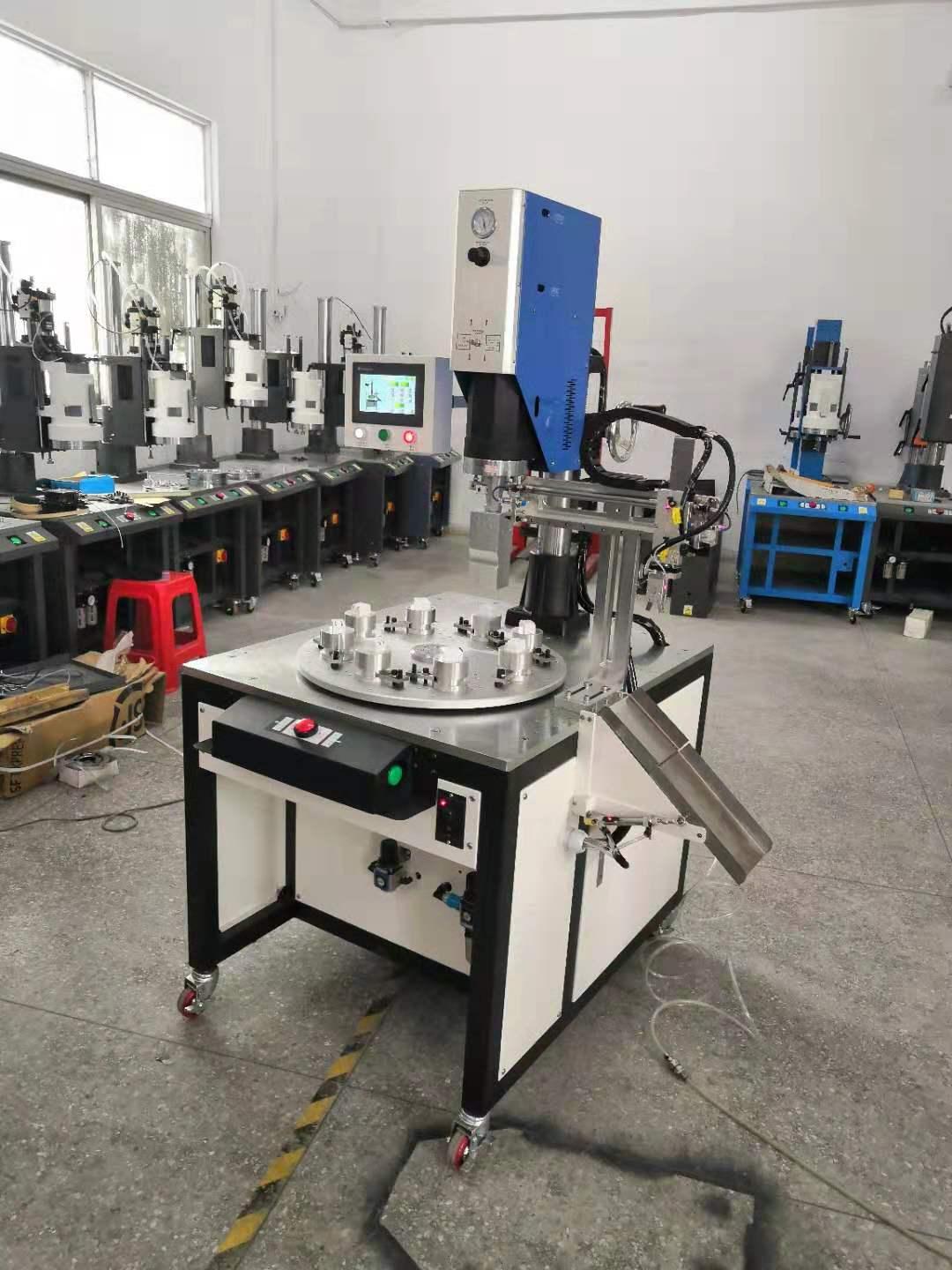 成都汉荣机械供应高质量的汉威超声波转盘式塑料焊接机 超声波转盘式塑料焊接机供销