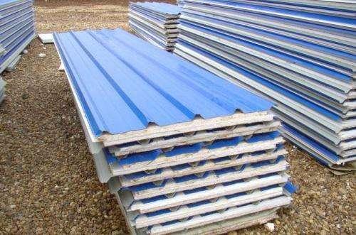 呼倫貝爾玻璃棉板_泡沫復合板_防火保溫板呼倫貝爾強億鑫鋼結構