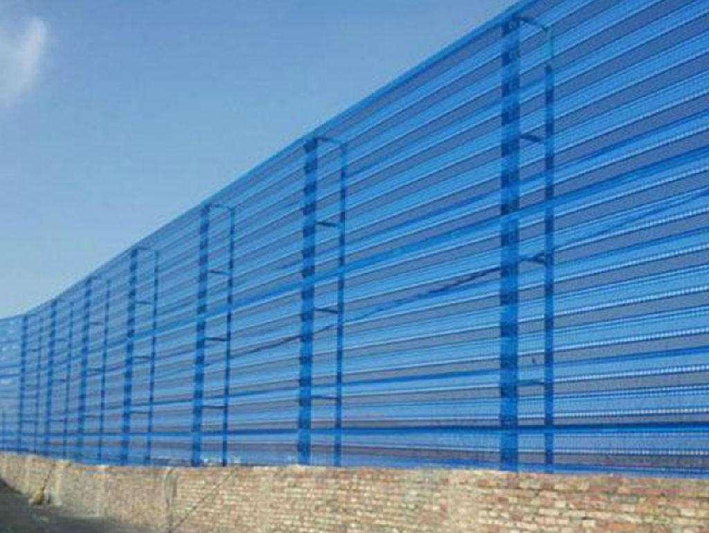 呼倫貝爾防塵網擋風墻_海拉爾防塵網廠家_呼倫貝爾強億鑫鋼結構